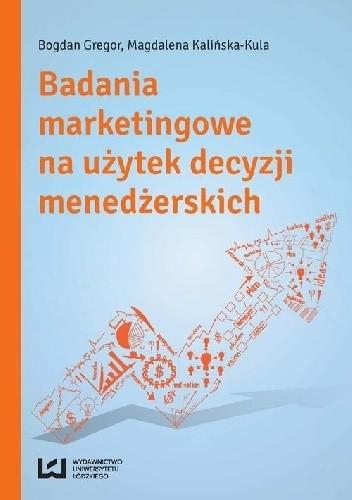Okładka książki Badania marketingowe na użytek decyzji menedżerskich