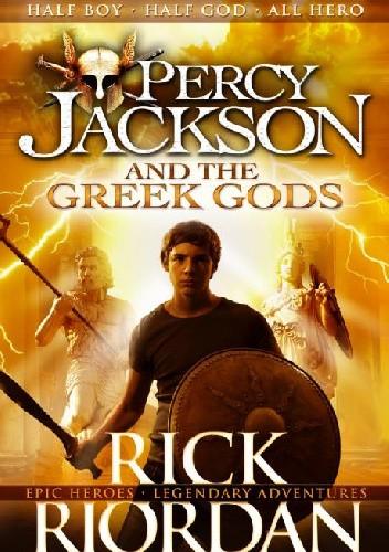 Okładka książki Percy Jackson and the Greek Gods