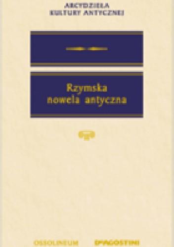 Okładka książki Rzymska nowela antyczna