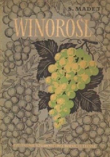 Okładka książki Winorośl