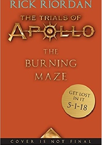 Okładka książki The Burning Maze