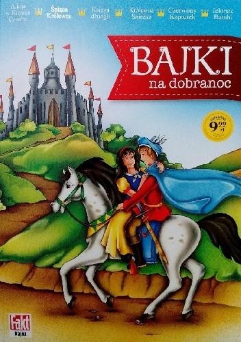 Okładka książki Bajki na dobranoc