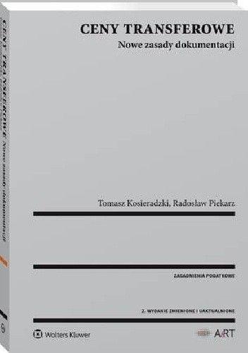 Okładka książki Ceny transferowe. Nowe zasady dokumentacji
