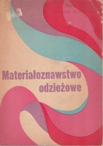 Okładka książki Materiałoznawstwo odzieżowe