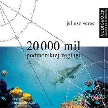 Okładka książki 20 000 mil podmorskiej żeglugi