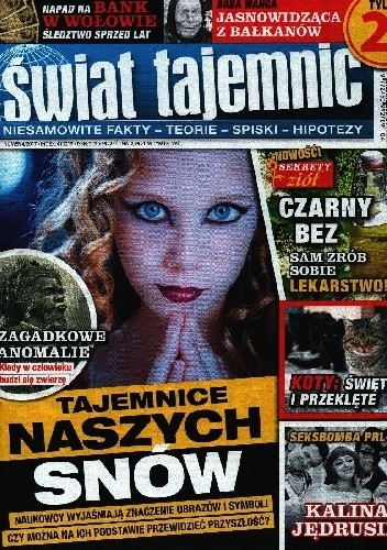 Okładka książki ŚWIAT TAJEMNIC NR 4/2017