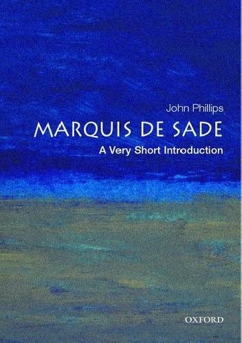 Okładka książki The Marquis de Sade: A Very Short Introduction