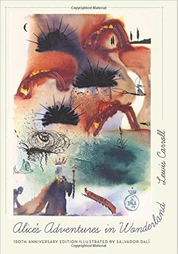 Okładka książki Alice's Adventures in Wonderland. 150th Anniversary Edition