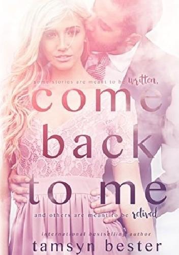Okładka książki Come back to me