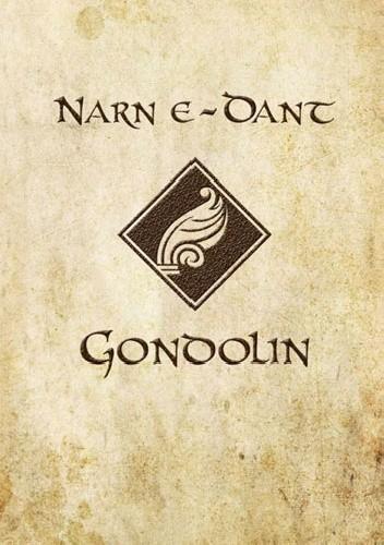 Okładka książki O Tuorze i upadku Gondolinu