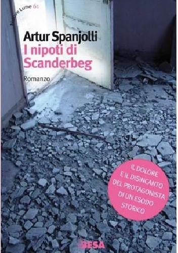 Okładka książki I nipoti di Scanderbeg