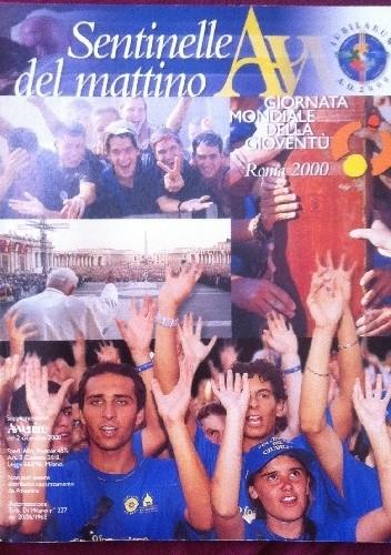 Okładka książki Sentinelle del mattino.Supplemento ad Avvenire  del 2 dicembre 2000