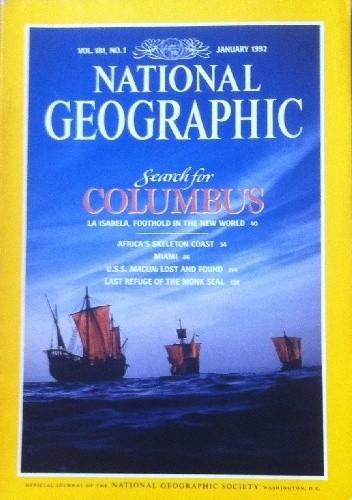 Okładka książki National Geographic Vol.181, No.1 January 1992
