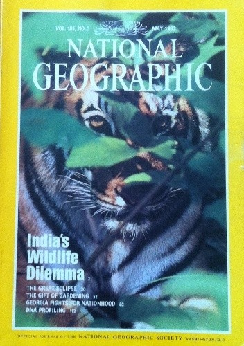 Okładka książki National Geographic Vol.181, No.5 May 1992
