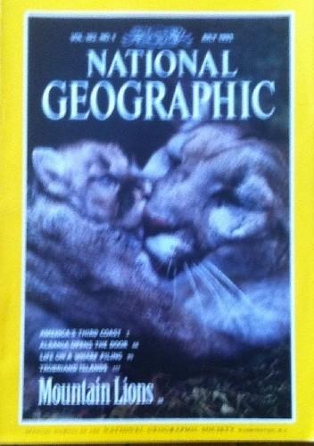 Okładka książki National Geographic Vol.182, No.1 July 1992