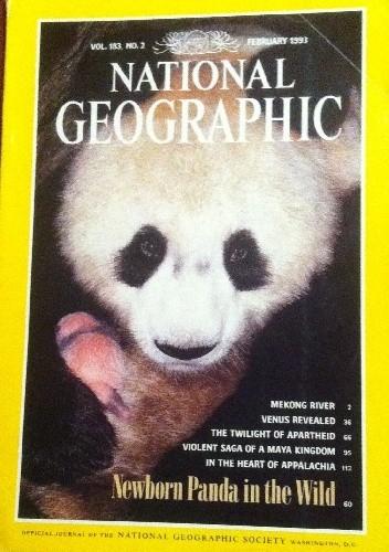 Okładka książki National Geographic Vol.183, No.2 February 1993