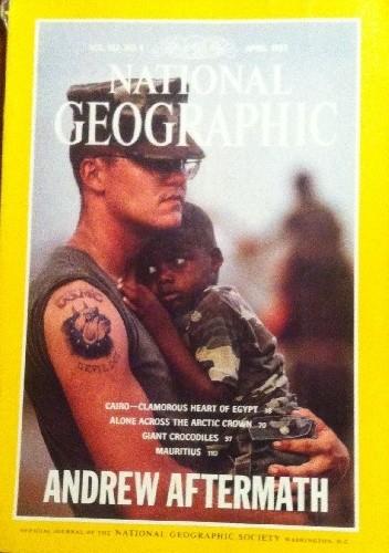 Okładka książki National Geographic Vol.183, No.4 April 1993