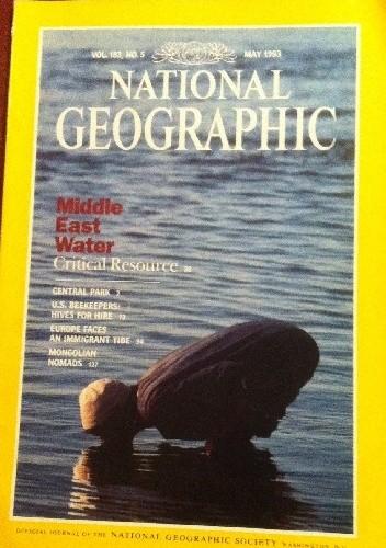 Okładka książki National Geographic Vol.183, No.5 May 1993