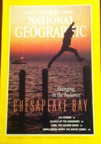 Okładka książki National Geographic Vol.183, No.6 June 1993
