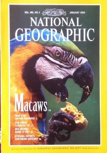 Okładka książki National Geographic Vol.185, No.1 January 1994