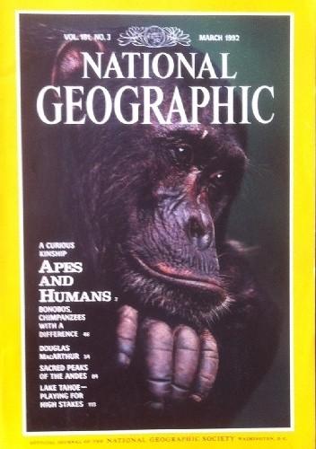 Okładka książki National Geographic Vol.185, No.3 March 1994