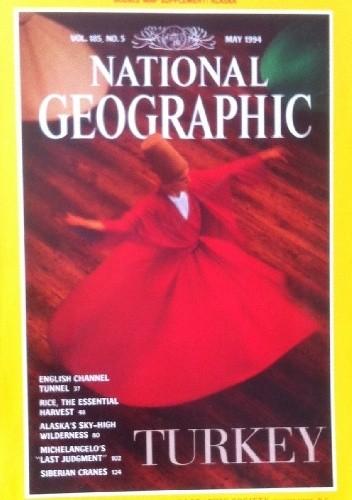 Okładka książki National Geographic Vol.185, No.5 May 1994