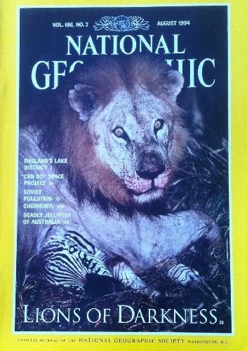 Okładka książki National Geographic Vol.186, No.2 August  1994