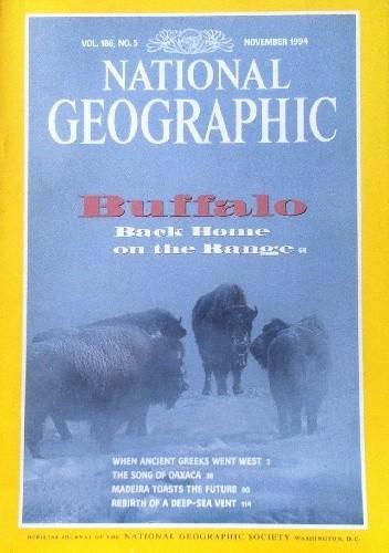 Okładka książki National Geographic Vol.186, No.5 November 1994