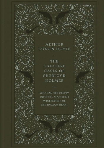 Okładka książki The Greatest Cases of Sherlock Holmes