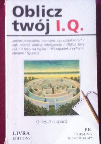 Okładka książki Oblicz swój I.Q.