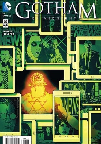 Okładka książki Gotham by Midnight #8 - The Jungle