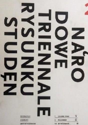 Okładka książki 2. Międzynarodowe Triennale Rysunku Studentów wyższych szkół artystycznych