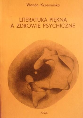Okładka książki Literatura piękna a zdrowie psychiczne