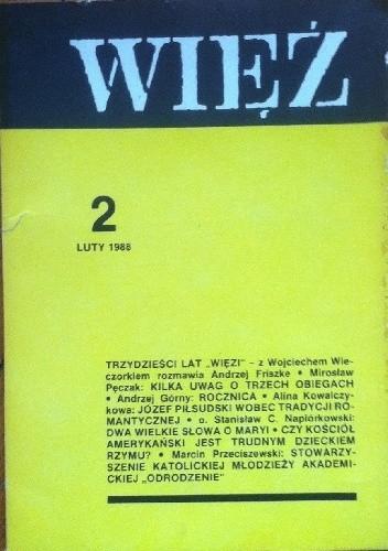 Okładka książki Więź nr 2 (352) luty 1988