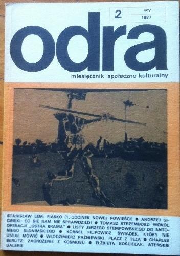 Okładka książki Odra. Miesięcznik społeczno-kulturalny nr 2, luty 1987
