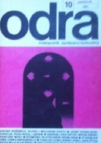 Okładka książki Odra. Miesięcznik społeczno-kulturalny nr 10, październik 1987