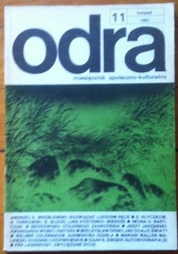 Okładka książki Odra. Miesięcznik społeczno-kulturalny nr 11, listopad 1987