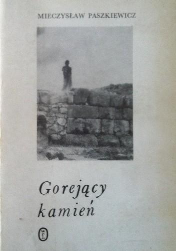Okładka książki Gorejący kamień