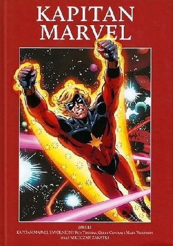 Okładka książki Kapitan Marvel: Kapitan Marvel uwolniony / Mroczne zakątki