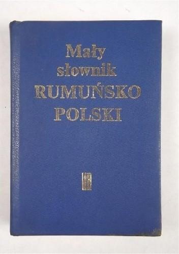 Okładka książki Mały słownik rumuńsko-polski