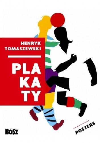 Okładka książki Tomaszewski. Plakaty