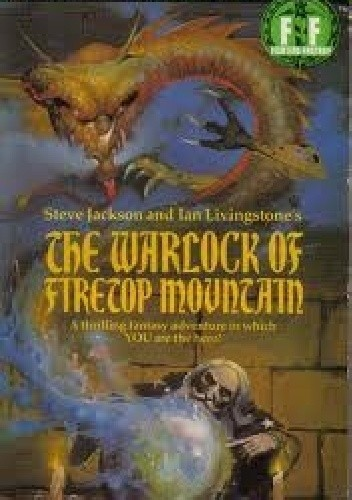 Okładka książki The Warlock of Firetop Mountain