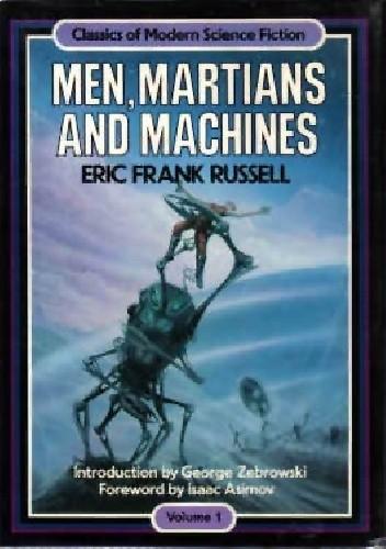 Okładka książki Men, Martians and Machines