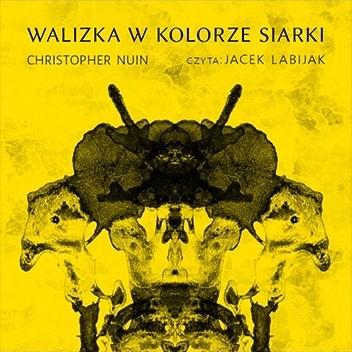 Okładka książki Walizka w kolorze siarki