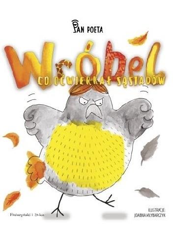 Okładka książki Wróbel, co oćwierkał sąsiadów
