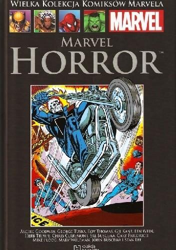 Okładka książki Marvel Horror