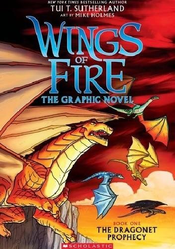 Okładka książki The Dragonet Prophecy