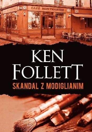 Okładka książki Skandal z Modiglianim