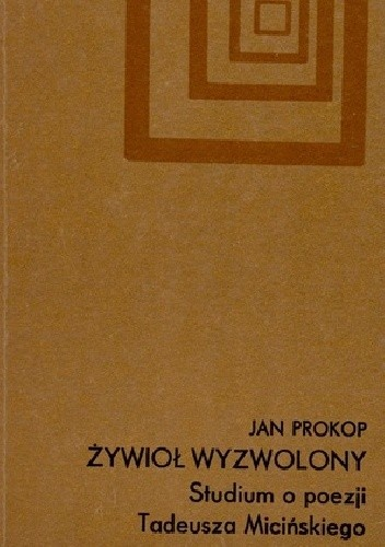 Okładka książki Żywioł wyzwolony