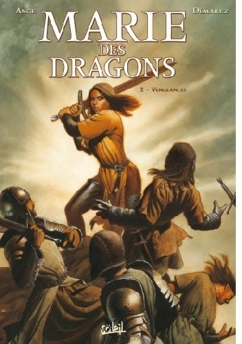 Okładka książki Marie of the Dragons, Volume 2